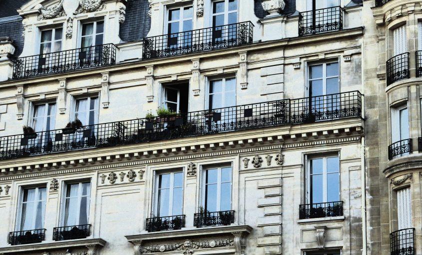 Façade d'un immeuble à Toulouse